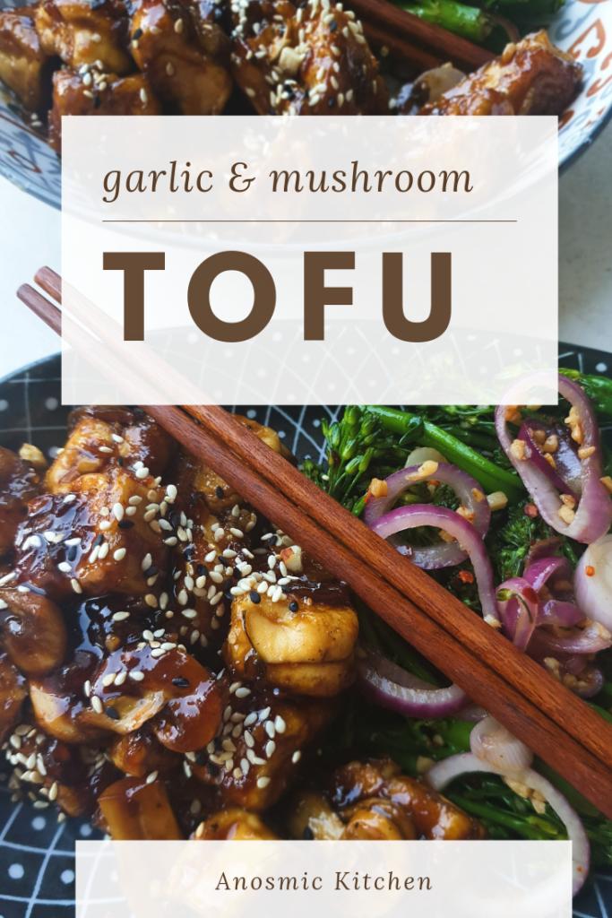 tofu and garlic broccoli recipe