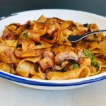 Balsamic Mushroom Pasta -  Under 10 Ingredients in Less Than 10 Minutes