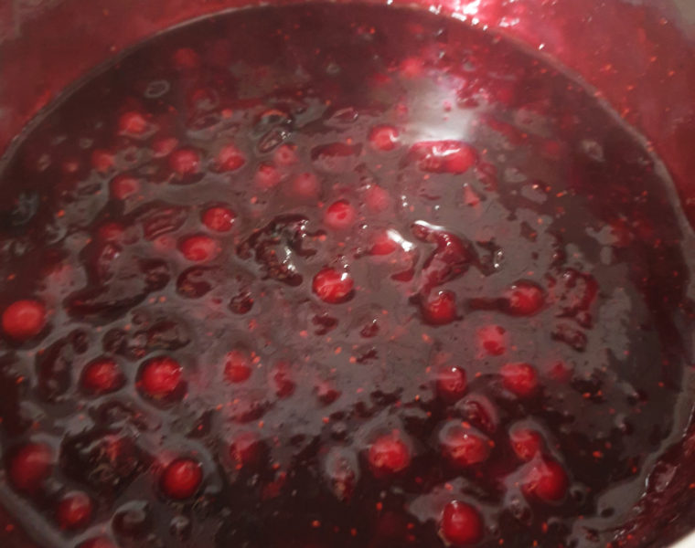 How To Make  A Berry Compote