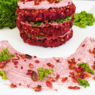 beetroot vegetable patties