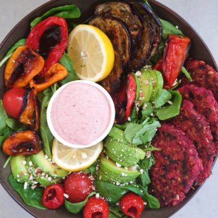 beetroot patties vegan