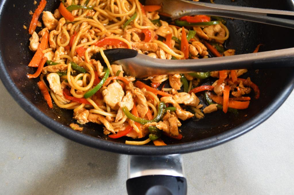 crunchy chicken stir fry recipe