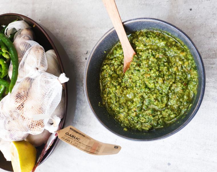Basil Pesto | Fresh Green Goddess | Anosmic Kitchen